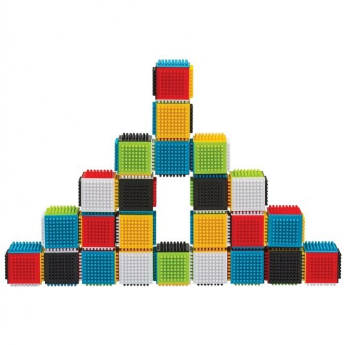 Press & Stay Sensory Blocks (Set of 24)