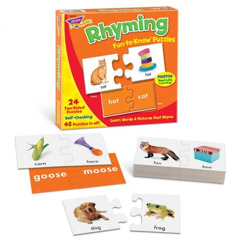 Rhyming Fun-to-Know® Puzzles