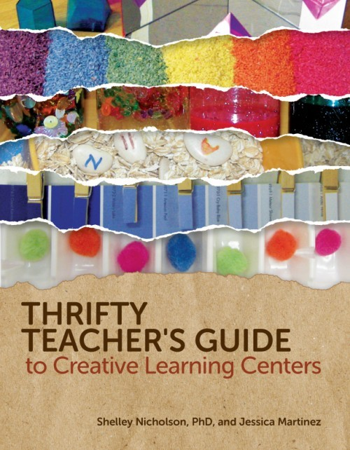 Gryphon House Releases Thrifty Teacher's Guide to Creative Learning Centers