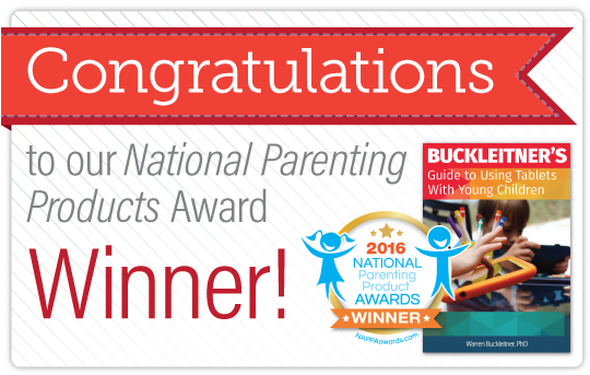 Buckleitner Wins National Parenting Award | Gryphon House