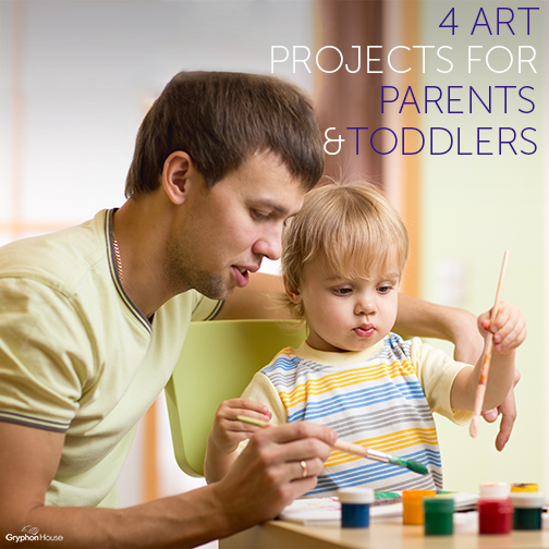 4 Art Projects for Parents and Toddlers