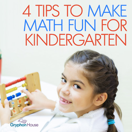 Teachers know that math activities have never been among the most popular activities for kindergartners. But you can help them learn math in a way that will reframe how your students view math.