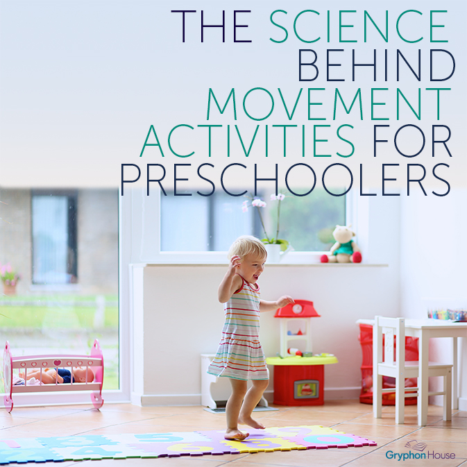 Movement activities for preschool aged children help to nurture children's natural desire to move and play.