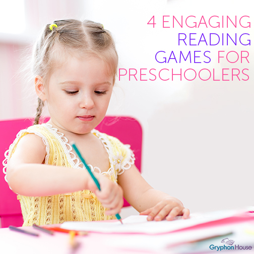 4 Engaging Reading Games for Preschoolers